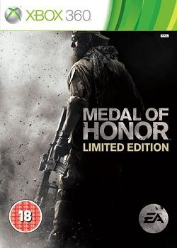 Medal Of Honor Limited Edition   Xbox 360 xbox 360 tiro guerra ano 2010 acao