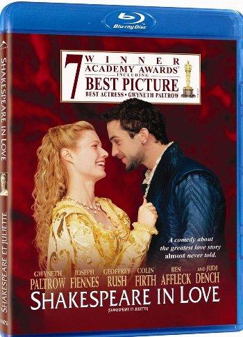 Влюбленный Шекспир / Shakespeare in Love (Джон Мэдден / John Madden) [1998, США, Великобритания, Мелодрама, BDRip 1080p] DVO DVO Sub rus + original eng