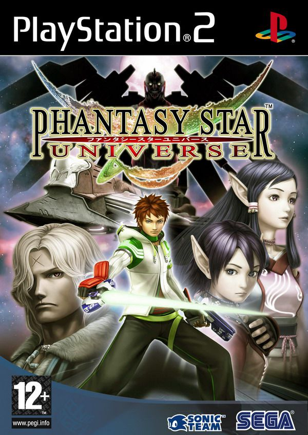 [PS2] Phantasy Star Universe [PAL/MULTI3]