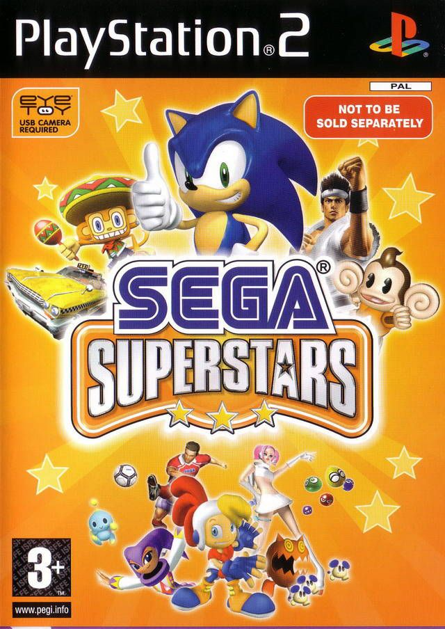 [PS2] Eye Toy Sega Superstars [PAL/ENG]