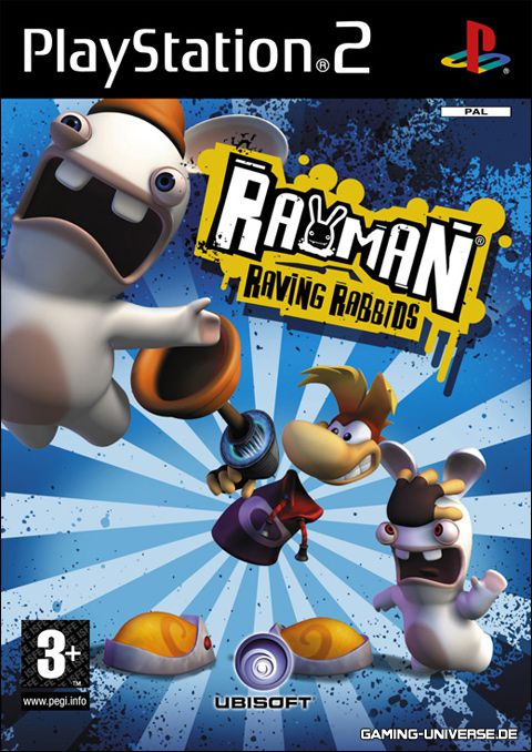 [PS2] Rayman Raving Rabbids [PAL/ENG]