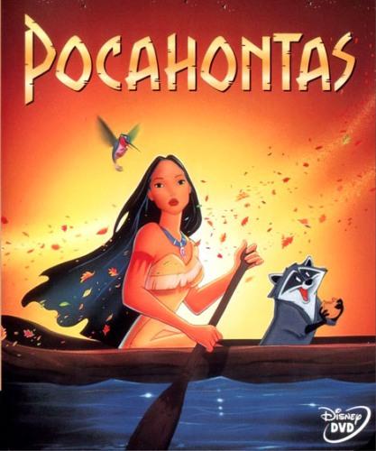 Покахонтас / Pocahontas (Майк Гэбриел, Эрик Голдберг / Mike Gabriel, Eric Goldberg) [1995, Мультипликация, HDTVRip 720p] DUB + MVO + AVO + rus sub
