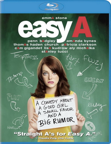 Отличница лёгкого поведения / Easy A (2010) BDRip 720p