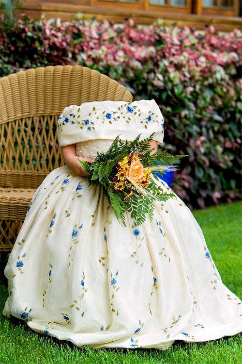 шаблон для фотомонтажа-Девочкам с цветами