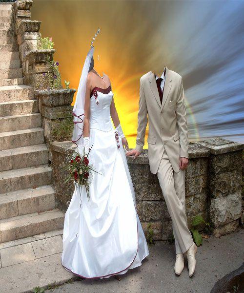 шаблон для фотошопа-Свадьба