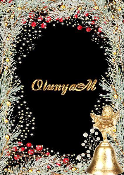Новогодняя рамка - Мой ангел