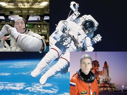 мужской шаблон для фотошоп: Космос.