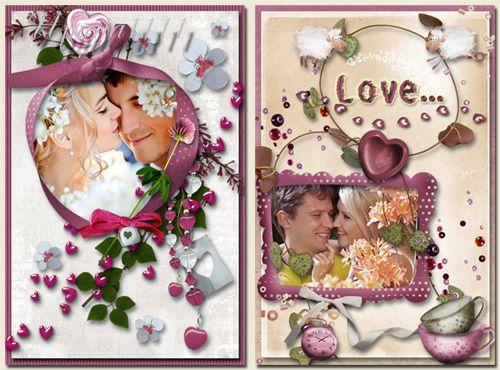 Рамки для Photoshop - Влюбленность
