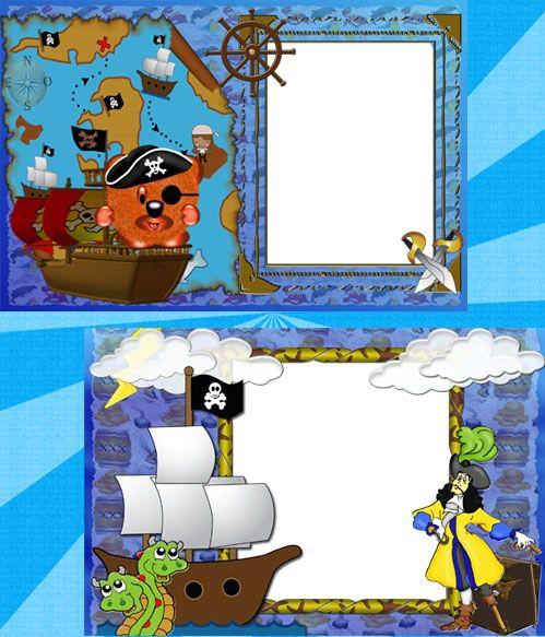 """Детские рамки """"Пираты"""""""