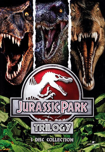Парк Юрского периода (Трилогия) / Jurassic Park (1993-2001/3хDVD9/DVDRip) Лицензия