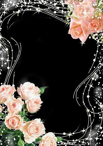 Рамка для фото - Красота из роз