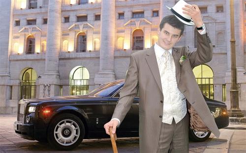 мужской шаблон для фотошоп: Джентльмен.