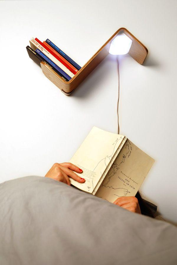 Креативная книжная полка-закладка