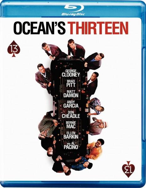 13 друзей Оушена / Ocean's Thirteen (Стивен Содерберг) [2007 г., Триллер, криминал, HDDVDRip, 1080p]