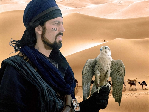 мужской шаблон для фотошопа: Бедуин.