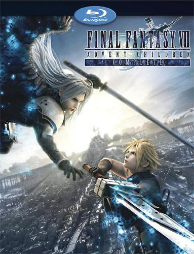 ��������� �������� 7: ���� ���������� / Final Fantasy VII: Advent Children Complete (������ �����) [Movie] [RUS] [2009 �., �����������, ������ ���������, �������, BDRip] [480x272]