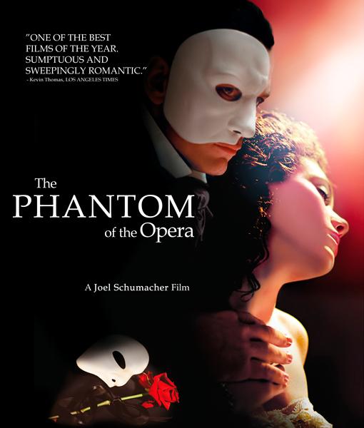 Призрак оперы / The Phantom of the Opera (Джоэл Шумахер / Joel Schumacher) [2004 г., драма, мюзикл, BDRip] Dub + sub