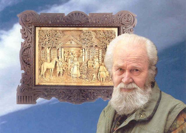 Резьба по дереву от Кронида Александровича