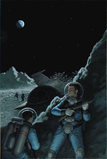 Рисунки иллюстратора Tristan Elwell