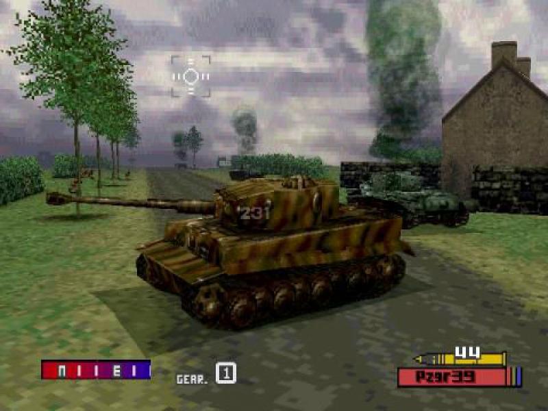 Скриншот к Танковая коллекция: 5 в 1(PSone)