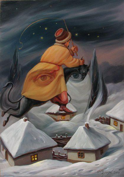 Картины Олега Шупляка