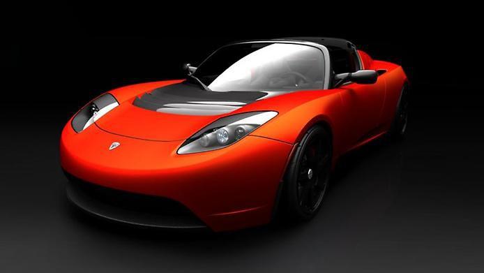 Tesla Roadster.Первый электрический спорткар