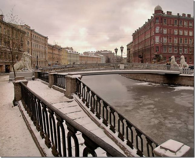 Знаменитые мосты Петербурга