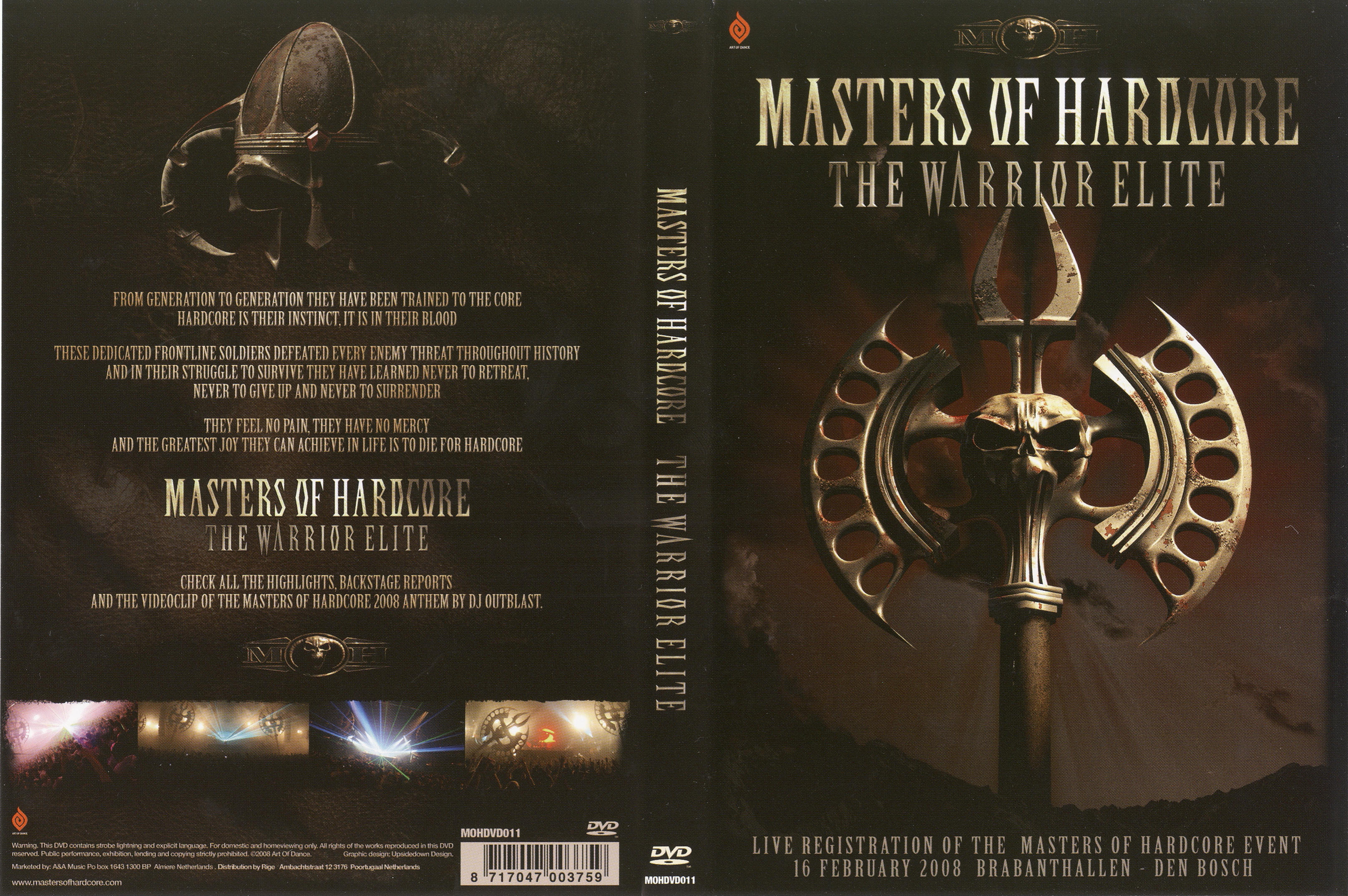 Masters of hardcore the warrior nackt video