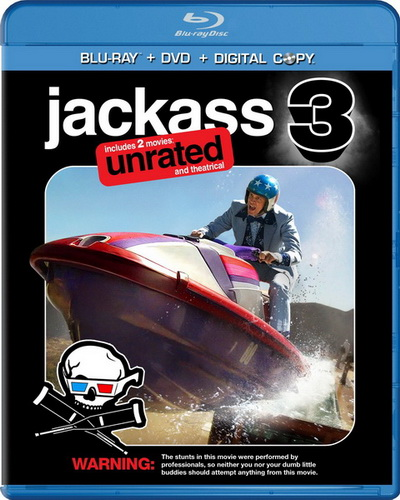 Чудаки 3D (Расширенная версия) / Jackass 3D (Unrated) (2010) BluRay + BDRip 1080p