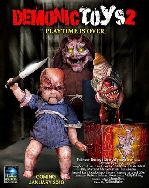 Демонические игрушки 2: Личные демоны / Demonic Toys 2: Personal Demons (2010/ DVDRip)