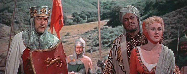 ������ ������� ������ / King Richard and the Crusaders (1954) [DVDRip]