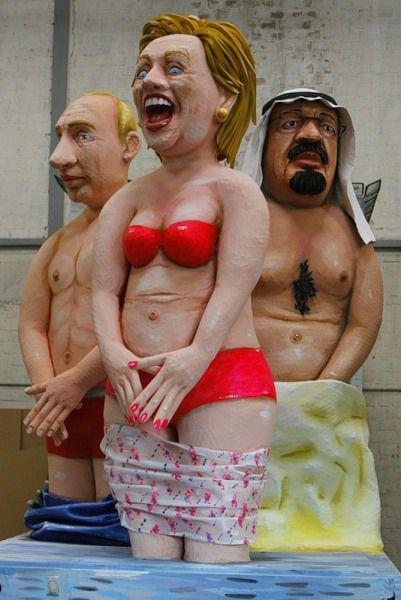 Немецкие карнавалы как показатель демократия