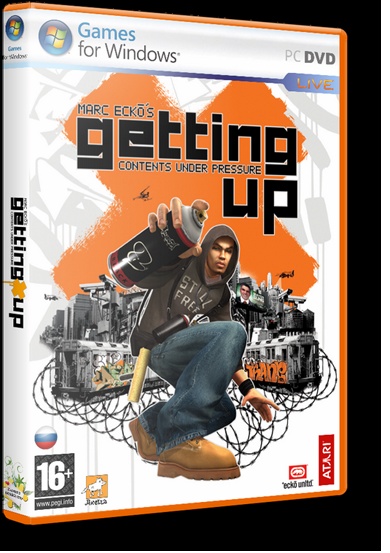 Marc Ecko's Getting Up: Contents Under Pressure (2006) PC | RePack