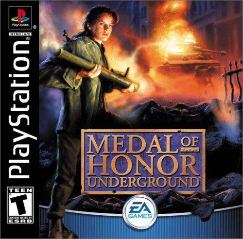 Medal of Honor Underground (2000/RUS/PSone)