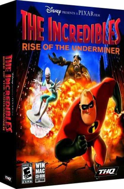 The Incredibles rise of the underminer (2005/RUS/PC/RePack)