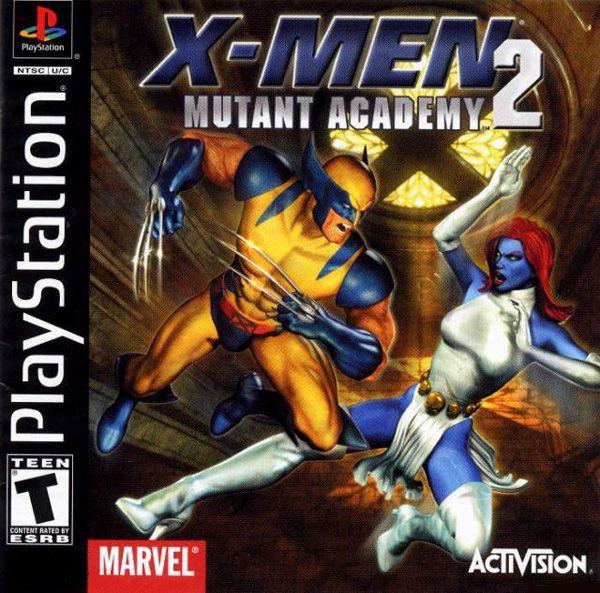 X-Men Mutant Academy 2  (2001/ENG/PSone)