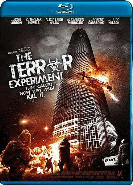 Дерись или беги / The Terror Experiment (2010/HDRip)