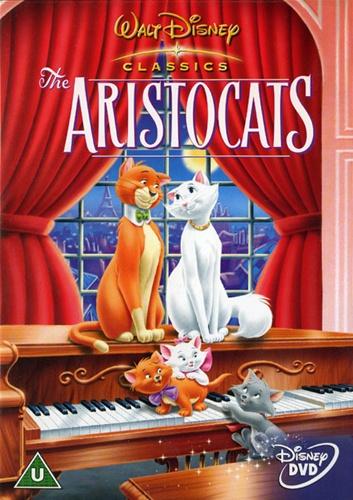 Коты-аристократы / The AristoCats (1970) DVD5 | Fullscreen | D, P, A, L1