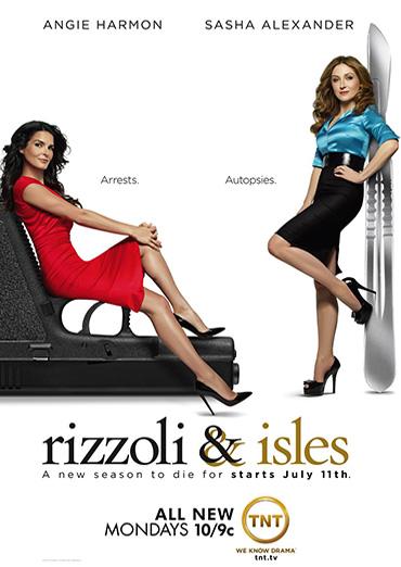 Риццоли и Айлс / Rizzoli & Isles (2 сезон/2011) WEB-DLRip