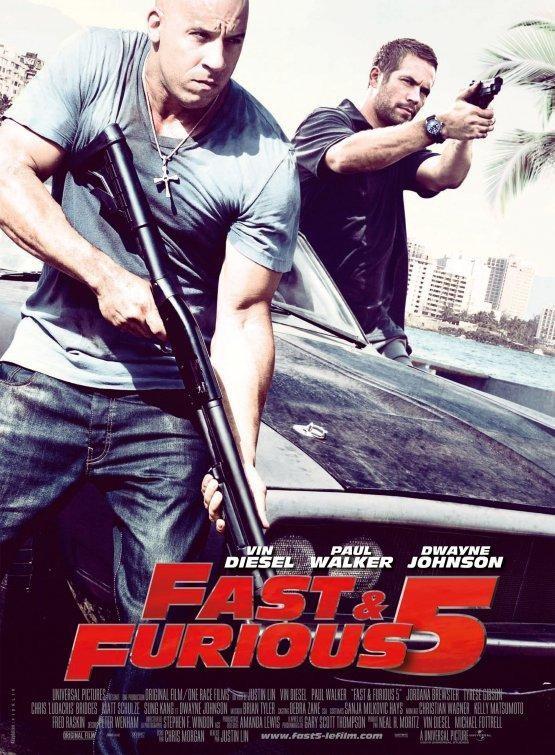 Rapido y Furioso 5 (fast Five) [BRScreener][Castellano][2011][Accion]