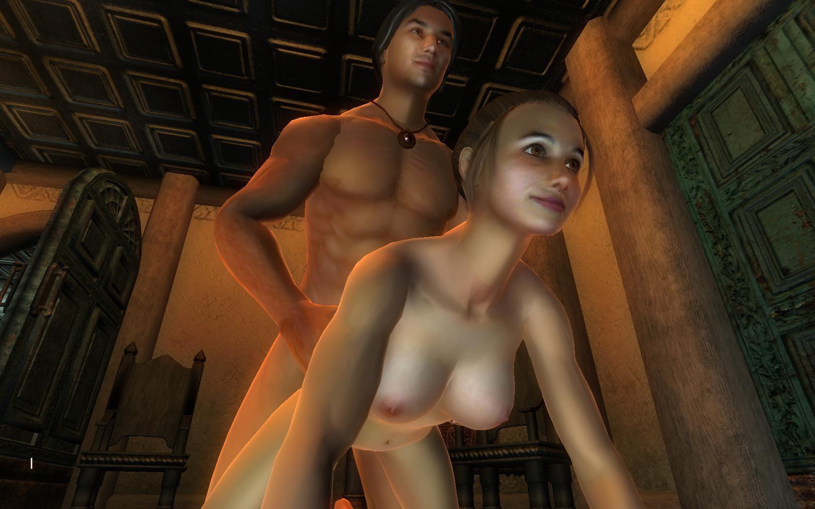 Секс моды и плагины для oblivion