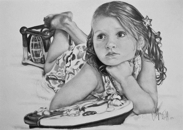 Рисунки карандашом от Julia Zelezova