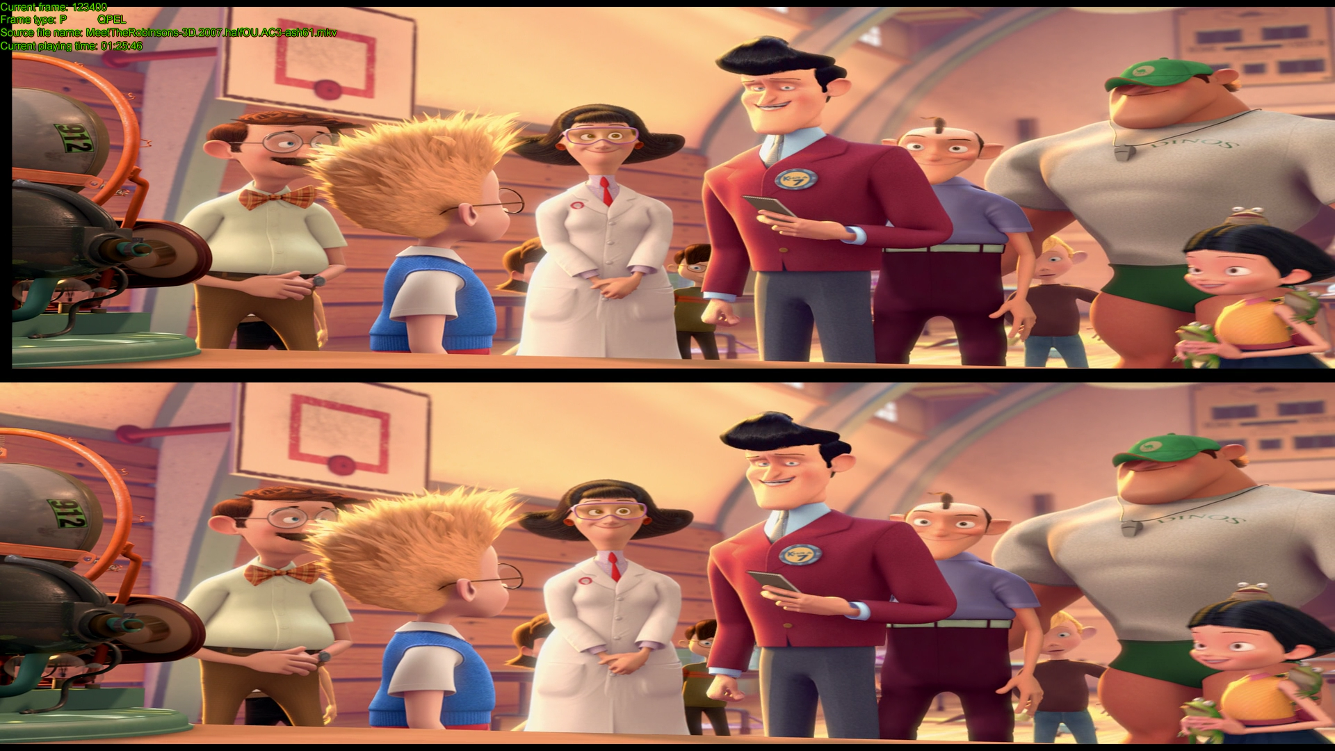 В гости к Робинсонам (2007) BDRip 1080p | 3D | HOU | Лицензия