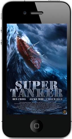 [iPhone] Супертанкер / Super Tanker (Джеффри Скотт Ландо / Jeffery Scott Lando) [2011, Фантастика, SATRip, 480x256]