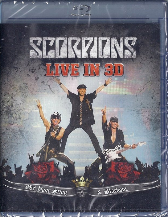 Scorpions - Get Your Sting & Blackout - Live in 3D / 3Д [2011, Музыка, Рок, BDrip-AVC] Half OverUnder / Вертикальнаяанаморфная стереопара