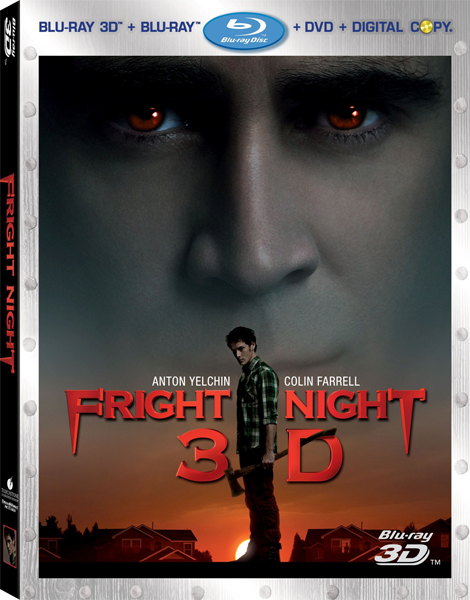 Ночь страха в 3Д / Fright Night 3D (Крэйг Гиллеспи / Craig Gillespie) [2011, Ужасы, Триллер, Комедия, BDrip-AVC] Half OverUnder / Вертикальная анаморфная стереопара