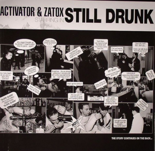 (Hardstyle) Activator & Zatox - Still Drunk / Freedom - 2008, MP3, 320 kbps, WEB [ACT079]