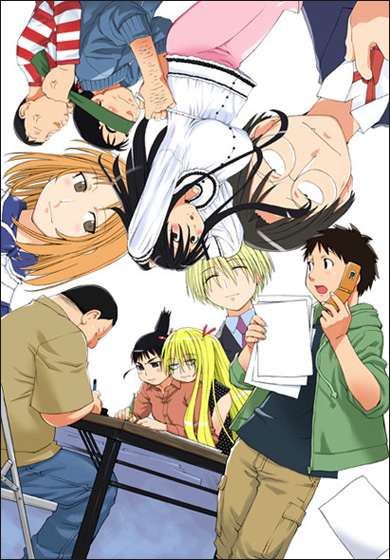 Гэнсикэн 2 / Геншикен 2 / Genshiken 2 [TV] [12 из 12] (без хардсаба) [JAP,RUS+SUB] [2007 г., комедия, повседневность, DVDRip]