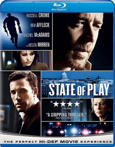 Постер Большая игра / State of Play (Кевин МакДональд) [2009, триллер, драма, детектив, криминал, HDRip-AVC] DUB