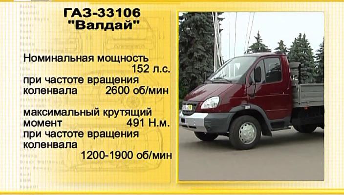 ГАЗ 33106 (Валдай) Тест драйв